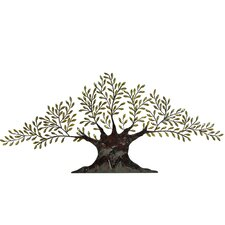 "Urban Tree of Peace Large 94"" Metal Art Wall Decor"