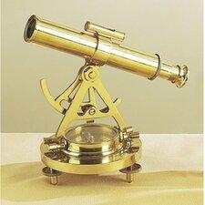 Antique Reproduction Decorative Telescope and Compass