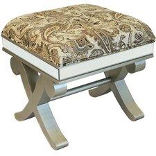 Urban Designs Wood Ottoman Stool Bench
