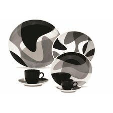 Porcelain 20 Piece Dinnerware Set