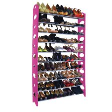 50 Pair Plastic Shoe Rack