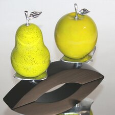 Artesana Hand Crafted Apple and Pear Natural Gourd