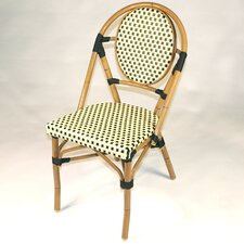 French Bistro Armless Stacking Chair (Set of 6)
