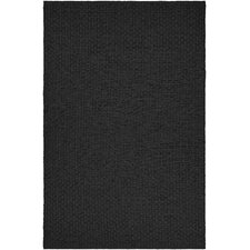 Grand Cayman Pontoon Black Indoor/Outdoor Area Rug