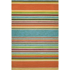 Covington Sherbet Stripe Multi Indoor/Outdoor Area Rug