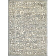 Everest Persian Arabesque Charcoal/Ivory Area Rug