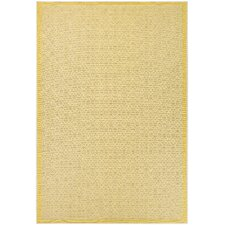 Monaco Sea Pier Sand & Lemon Indoor/Outdoor Area Rug