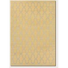 Five Seasons Crystal Coast Gold/Cream Area Rug