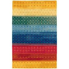 Oasis Rainbow Striped Area Rug