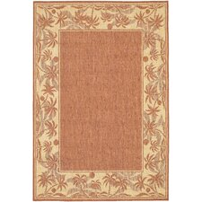 Recife Island Retreat Terracotta & Natural Indoor/Outdoor Area Rug