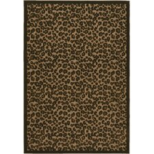Urbane Captivity Brown Novelty Area Rug