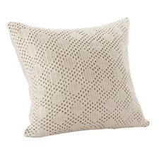 Diamond Crochet Decorative Cotton Throw Pillow