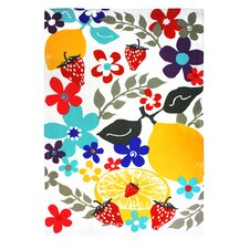 Fruit Salad Designer Print Towel (Set of 2)