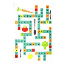 Crossword Designer Print Towel (Set of 2)