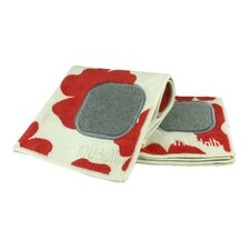 Poppy 8 Piece Dishcloth and Towel Set
