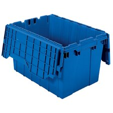 12-Gal Attached Lid Container (Set of 6)