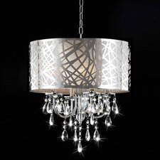 Venus 4 Light Drum Chandelier