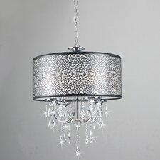Mineva 4 Light Drum Chandelier
