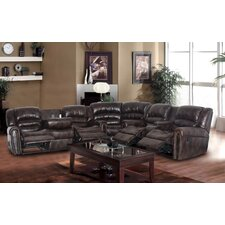 Sophy Bonded Leather Sectional