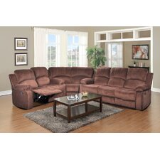 Denver Micro-Velvet Reclining Sectional