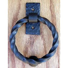 Twisted Ring Knocker Pull
