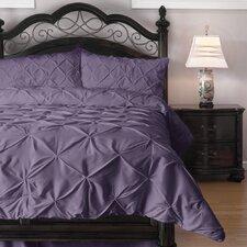 Pinch Pleat Comforter Set