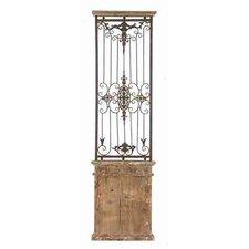 Toscana Metal Wood Wall Gate