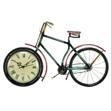 Urban Trends Cycle Table Clock