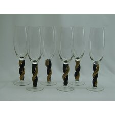 Stem Champagne Glass (Set of 6)