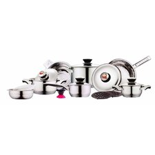 Kelvin K. Diamond Series 17-Piece Cookware Set