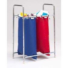Stationary 2 Bag Holder Mailbag Rack