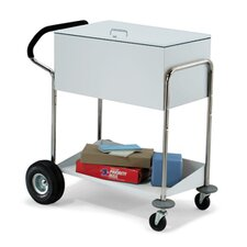 Security Medium File Cart with Locking Top