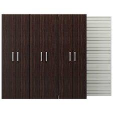 6' H x 8'W x 1.5' D 3 Tall Cabinet Pack