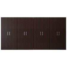6' H x 12' W x 1.6' D Jumbo Cabinet Storage Center