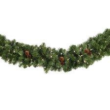 Winchester Fir Prelit Holiday Garland