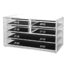 Deluxe 6 Drawer Jewelry Chest