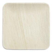 "8"" Compostable Eco Friendly Palm Leaf Plate (Set of 100)"