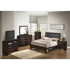 Storage Sleigh Customizable Bedroom Set
