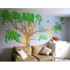 Big Nursery Tree Wall Decal