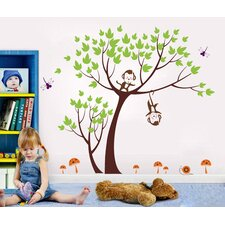 Monkeys Party Wall Decal
