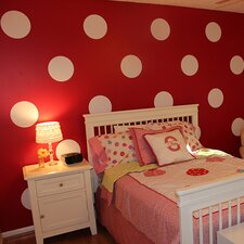 Polka Dots Decoration Wall Decal