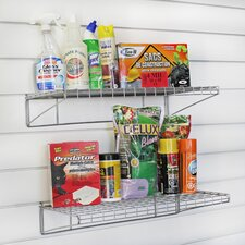 """5.5"""" H Two Wire Shelving Unit (Set of 2)"""