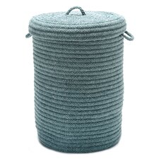 Wool Blend Hamper with Lid
