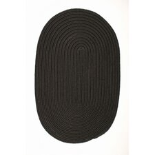 Boca Raton Black Indoor/Outdoor Area Rug