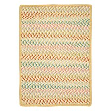 Color Frenzy Yellow Go Bananas Area Rug