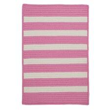 Stripe It Bold Pink Indoor/Outdoor Area Rug