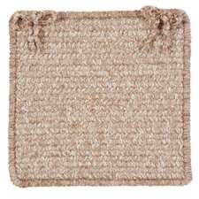 Texture-Woven Chair Pad