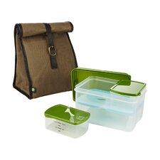 6 Piece Classic Lunch Bag Set