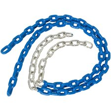 Coated Trapeze Swing Chain (Set of 2)
