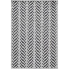 Platinum Silver Area Rug